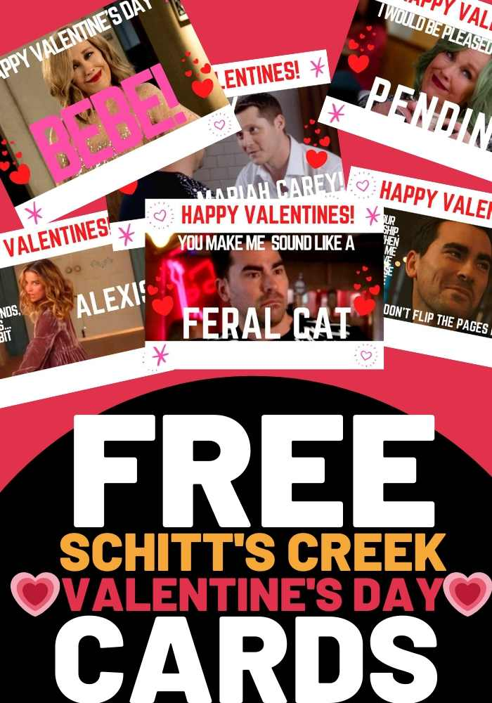 schitts creek valentines day cards free printable