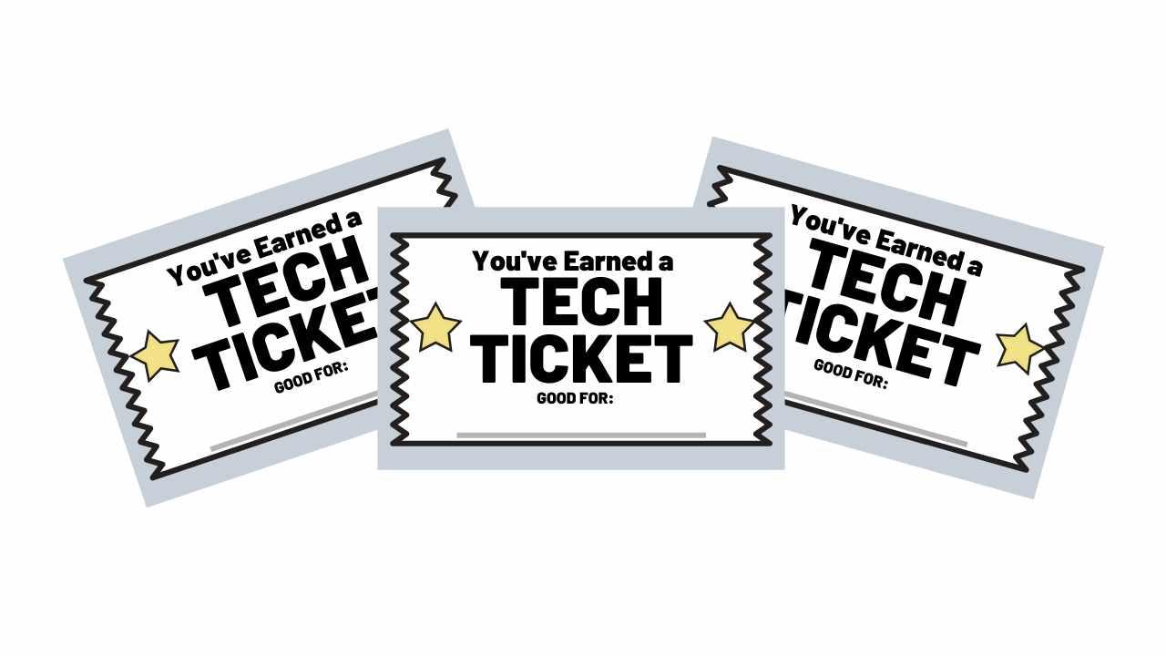 tech ticket pdf