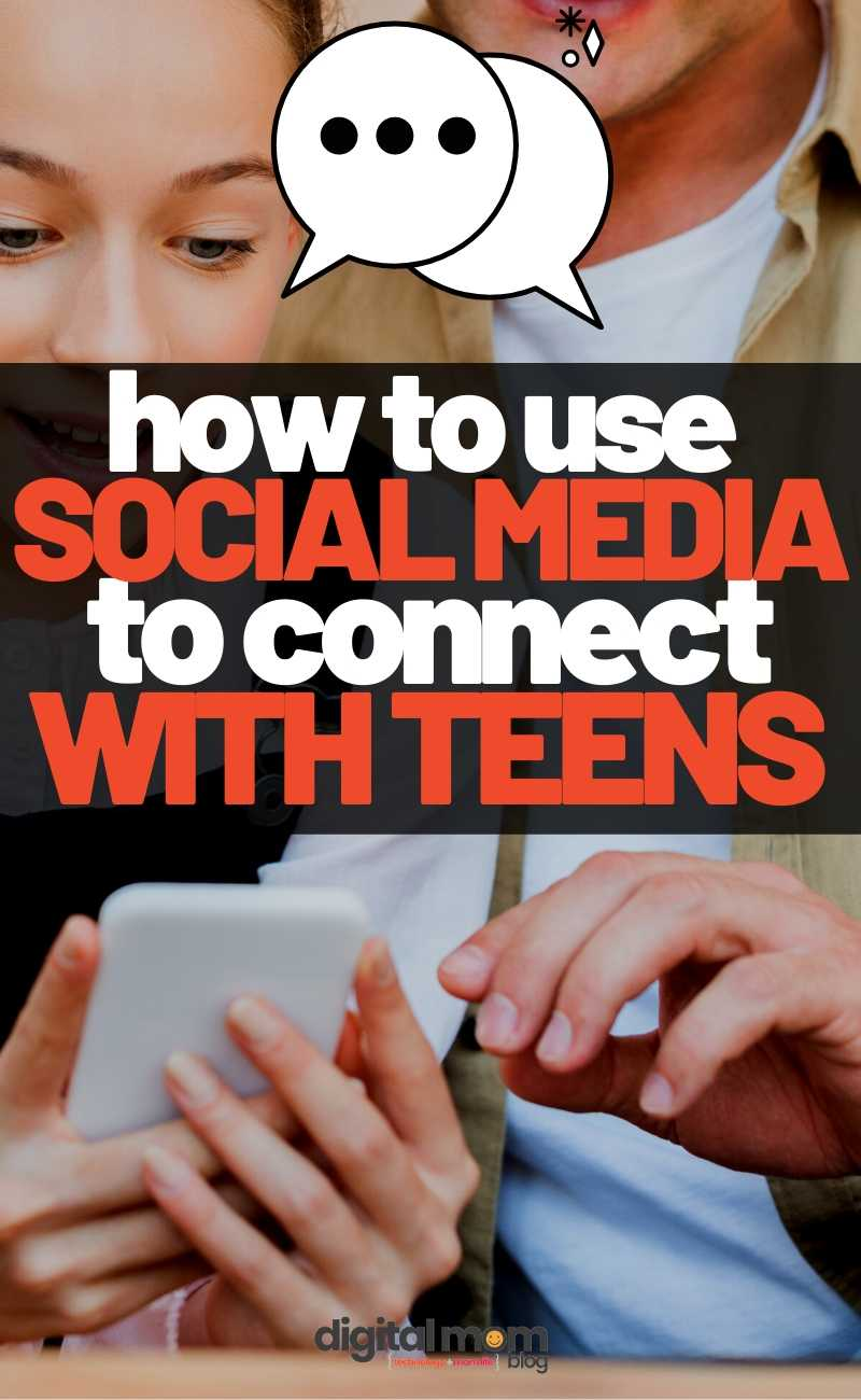 using social media to connect with teens
