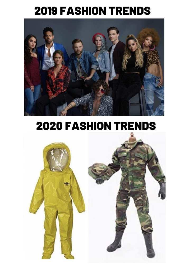 2020 fashion trends meme