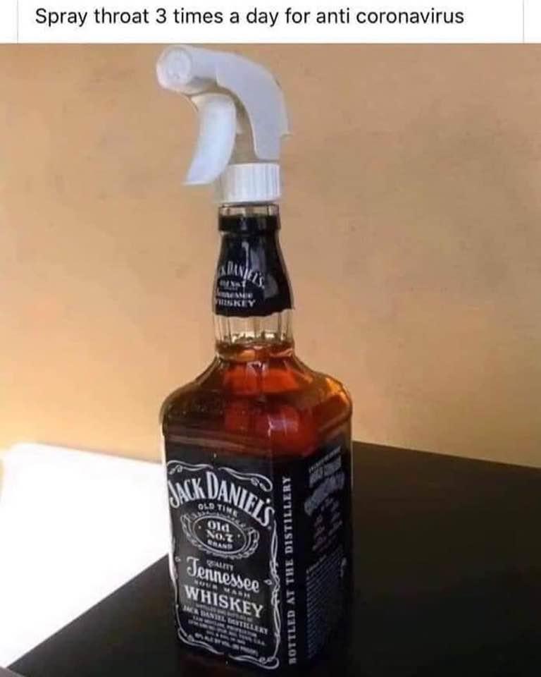 alcohol coronavirus meme jack daniels