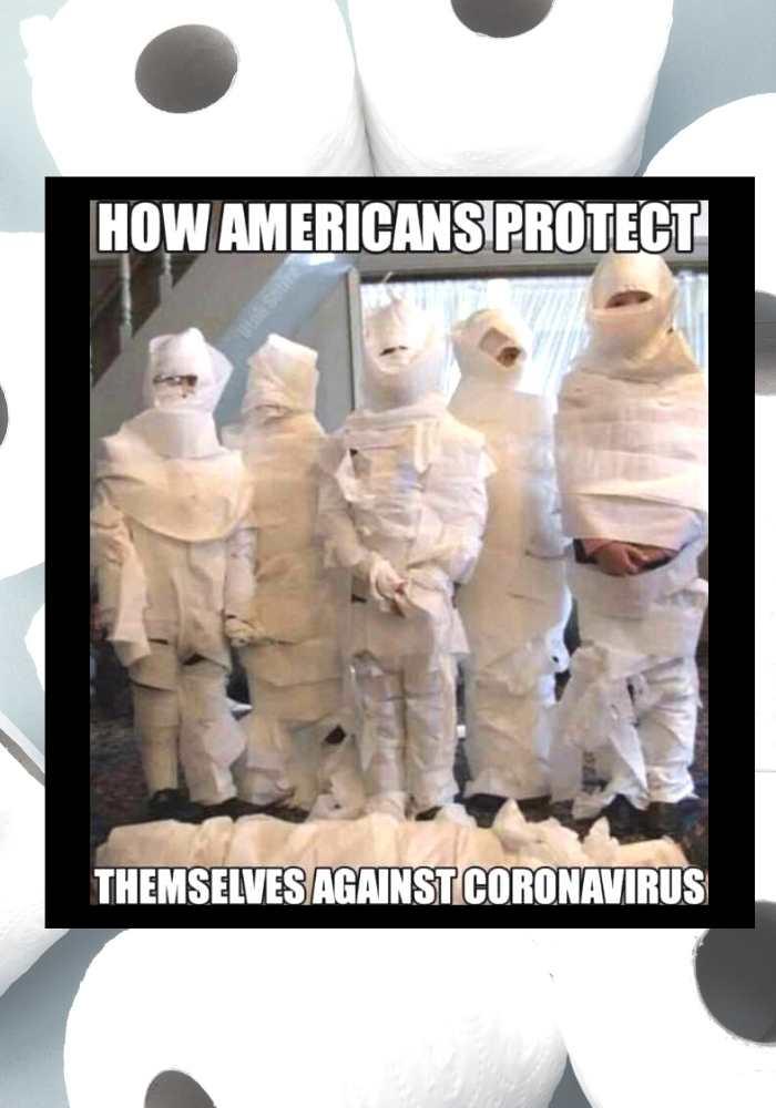 american coronavirus toilet paper