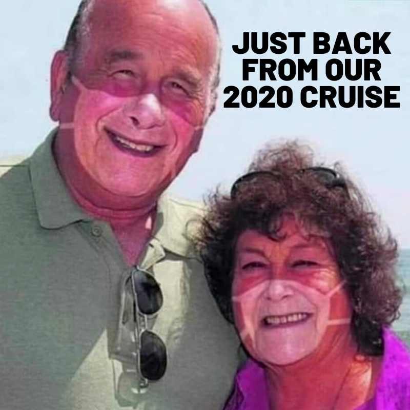 back from our cruise coronavirus meme