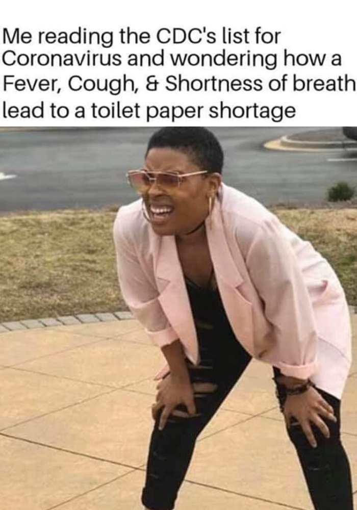 coronavirus cdc toilet paper memes