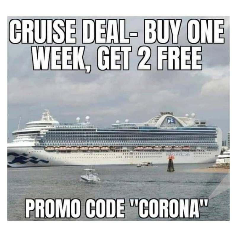 cruise deal meme