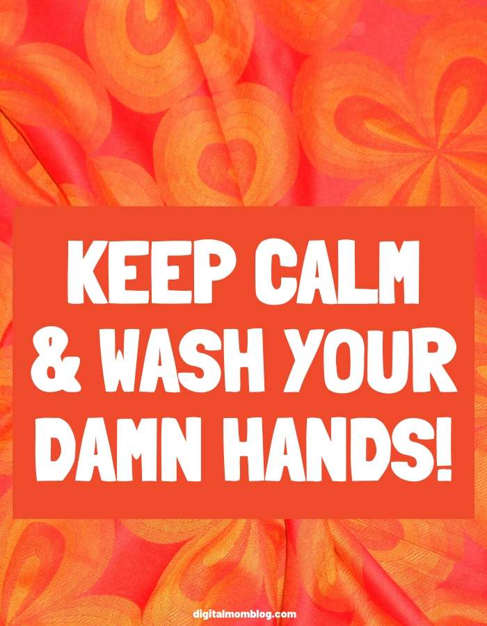 keep calm and wash your hands memes