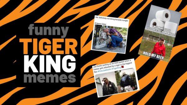Best Tiger King Memes