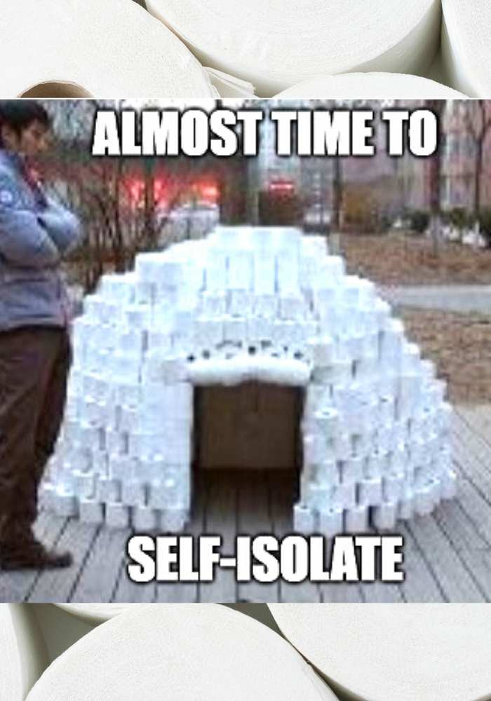 self-isolate-meme