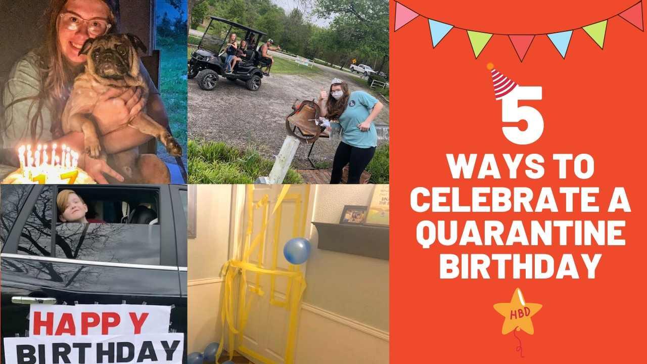 ideas quarantine birthday