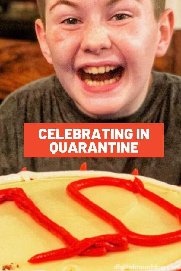 Birthday Celebration in Quarantine