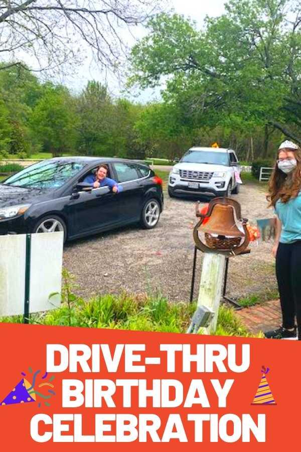 Drive Thru Birthday Celebration