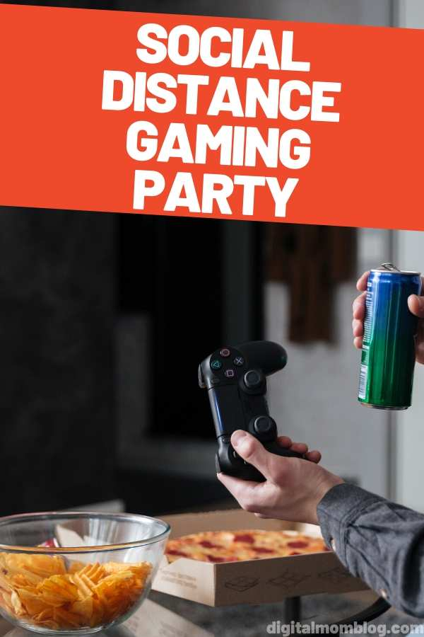 Social Distance Gaming Party