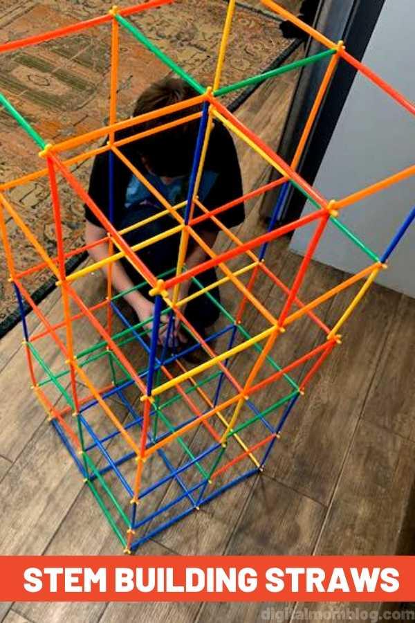 STEM Building Straws