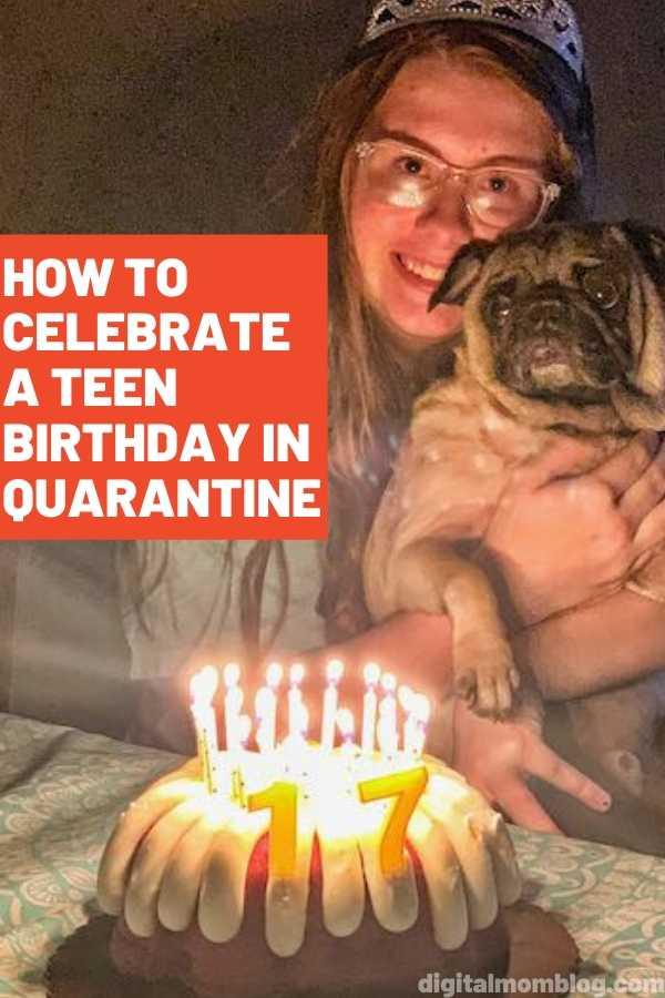 teen birthday quarantine ideas
