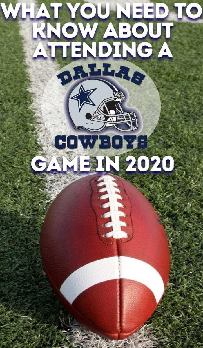 Dallas Cowboys Games in 2020