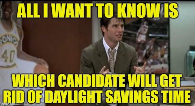 2020 daylights savings meme candidate