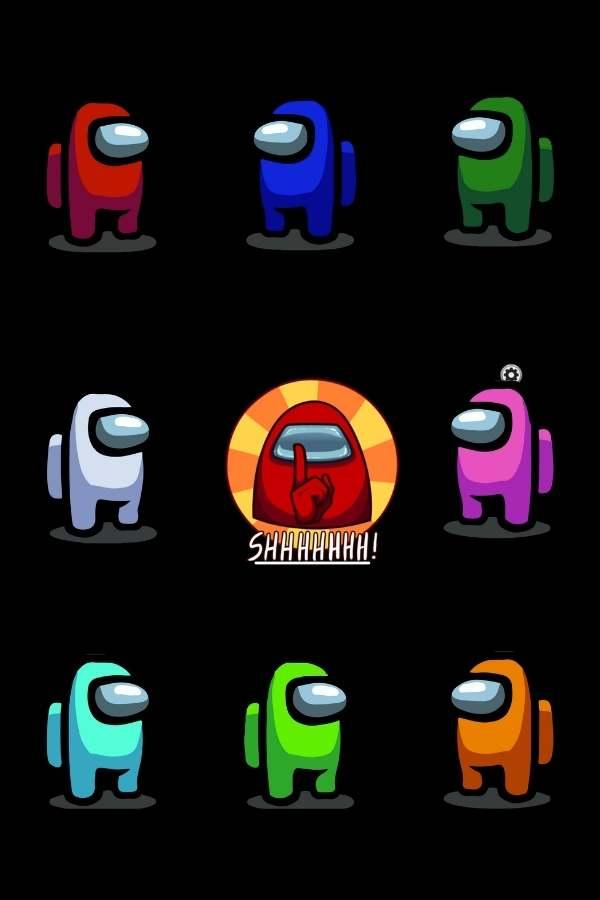 Among Us Character Colors