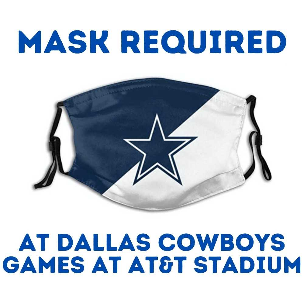 Dallas Cowboys Mask Requirements at AT&T Stadium