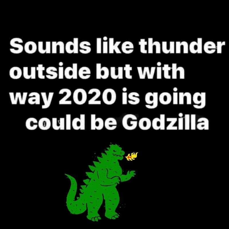 Godzilla Returns! Funny 2020 Meme
