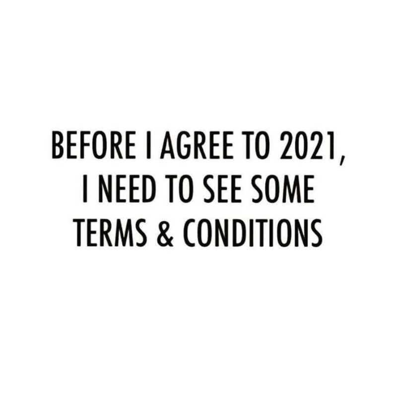 2021 Meme - Terms and Conditions