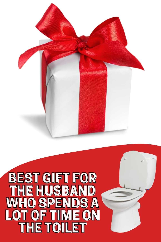 Best Husband Gift for Toilet Time - Humor