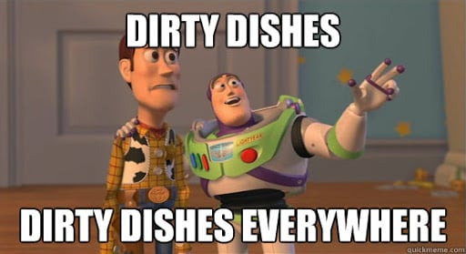 Dirty Dishes Meme
