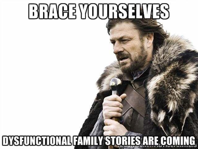 dysfunctional family meme