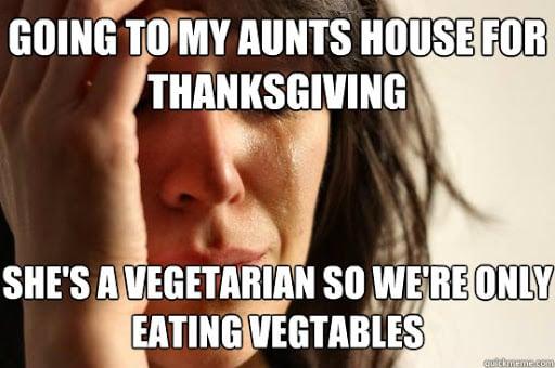 eating vegetables meme