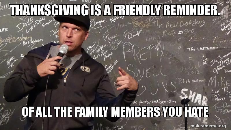family hates you meme