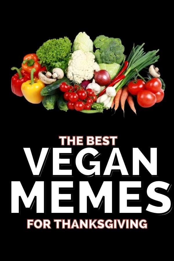 funny vegan memes thanksgiving
