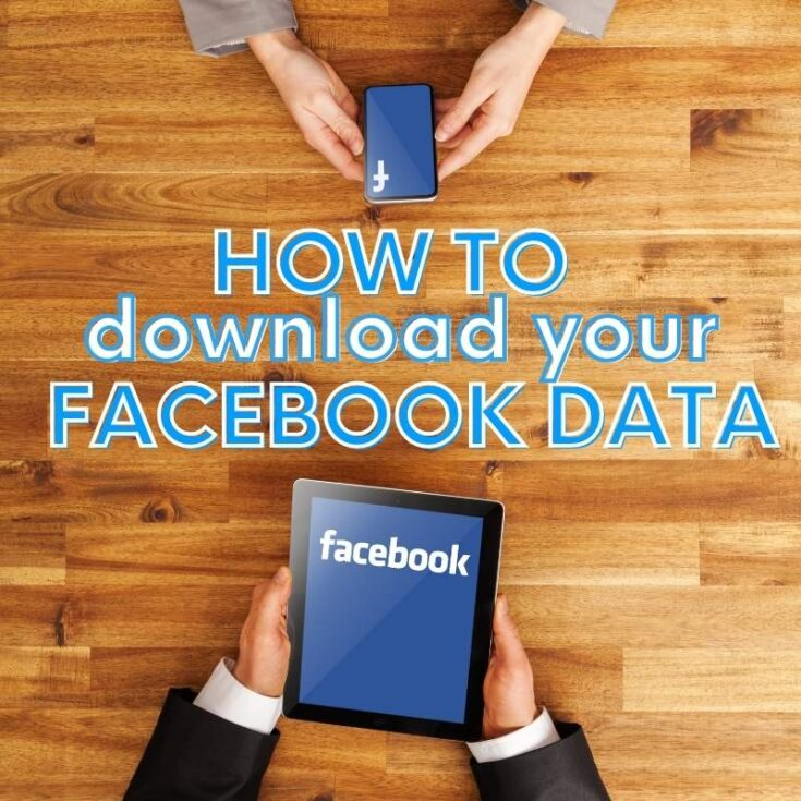 how to download your facebook data tutorial