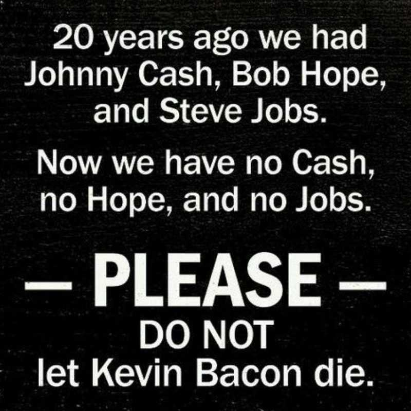 Kevin Bacon Meme - Save Kevin