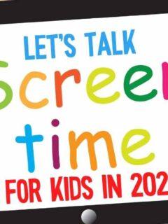 kids screen time in 2020