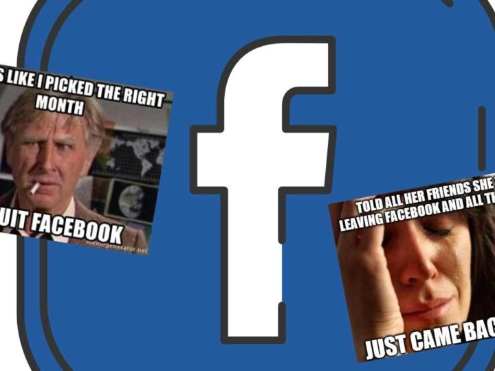 leave facebook memes about quitting fb