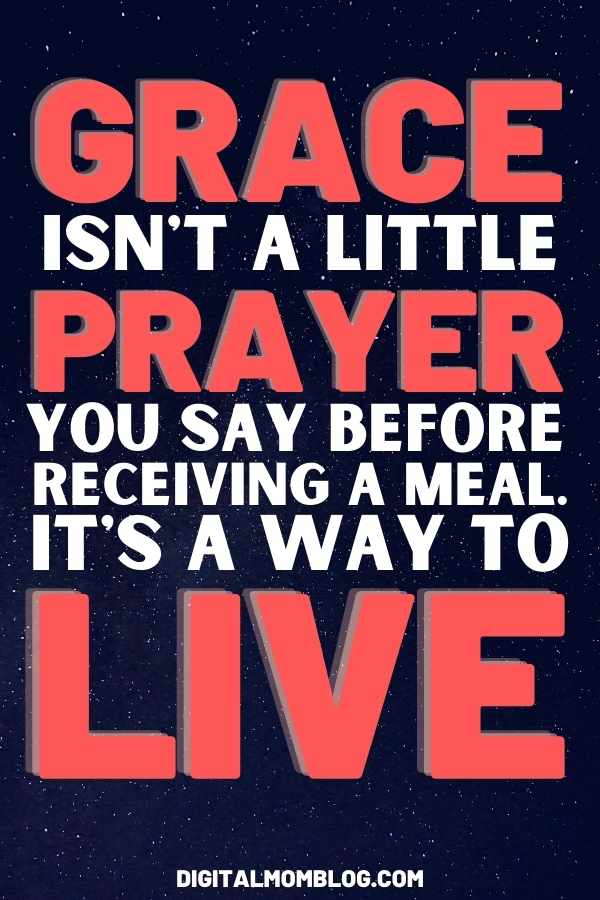 Quote about Grace