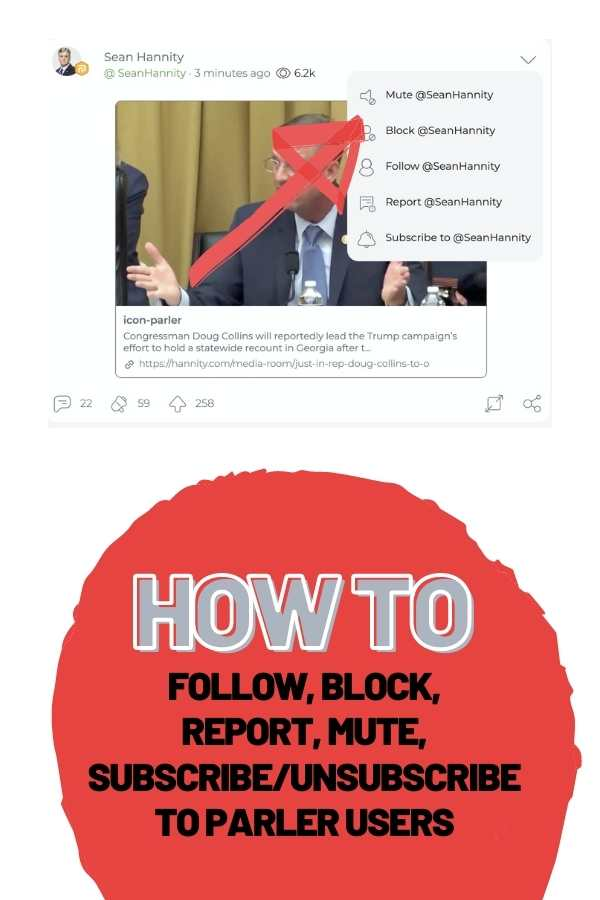 How to Follow Parler Users (and unfollow!)