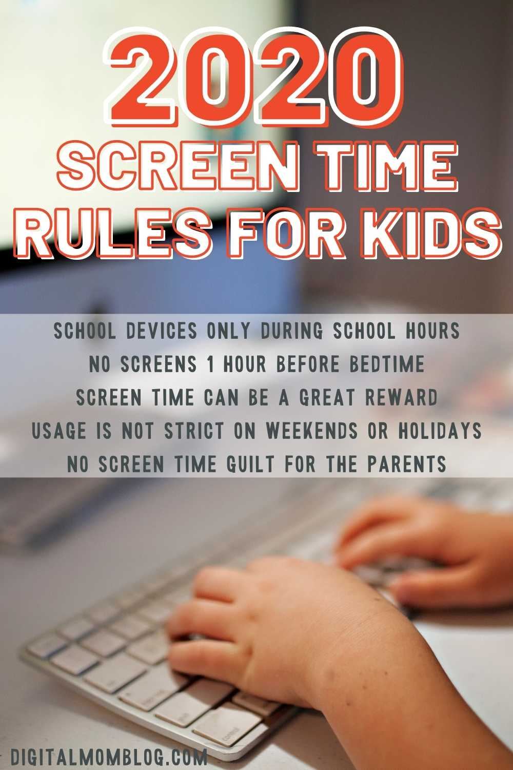 The Rules screen time rules for kids in 2020