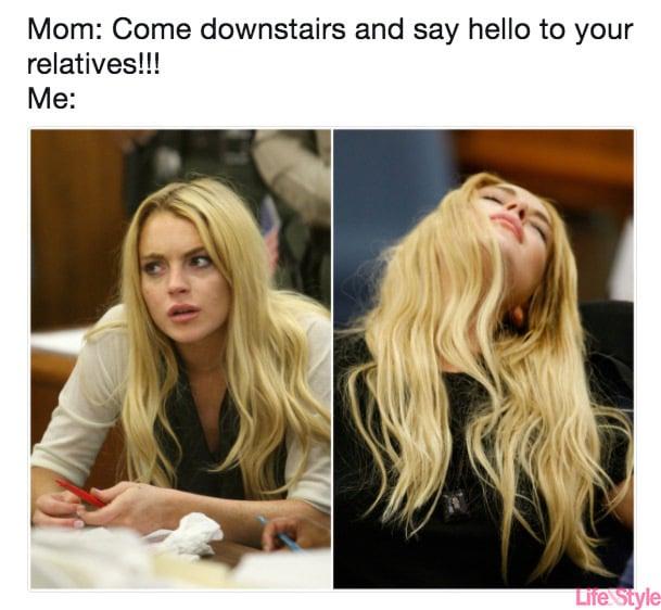 teenagers on thanksgiving meme