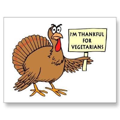thankful for vegetarians meme