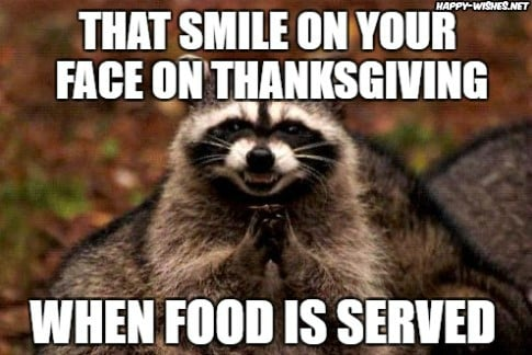 Thanksgiving Food Meme