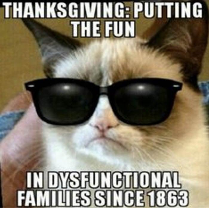 thanksgiving thankful meme