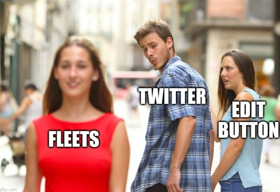 thoughts on twitter fleet memes