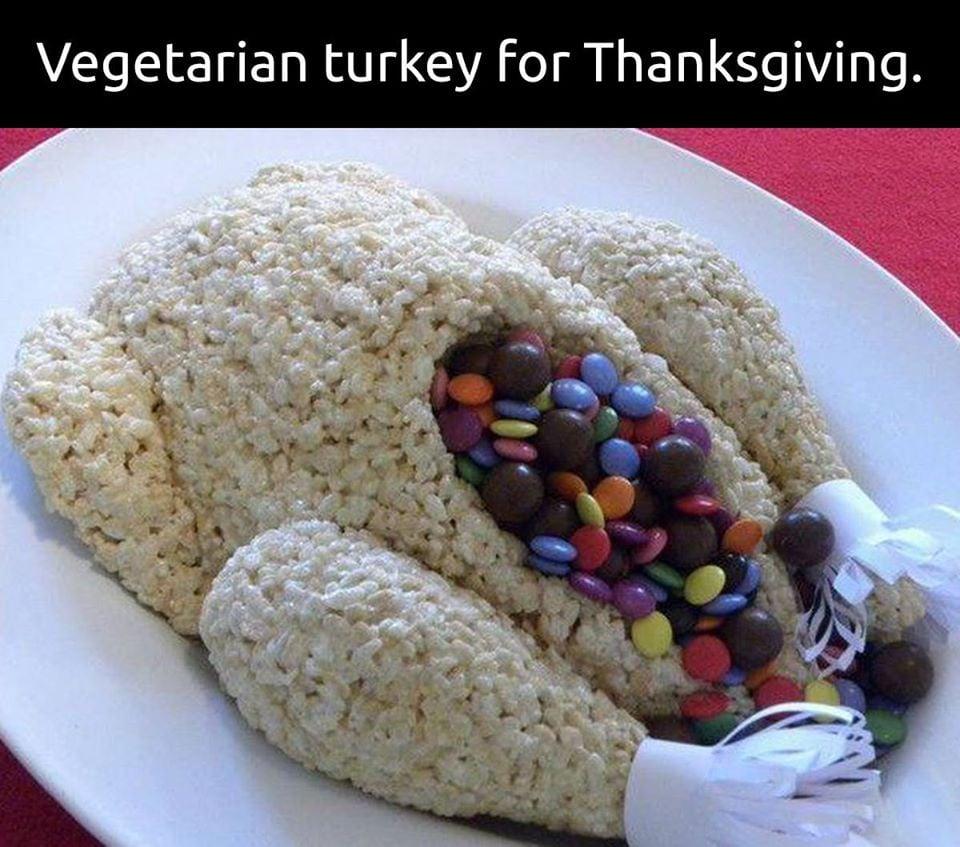 vegetarian turkey meme