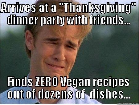 zero vegan food thanksgiving