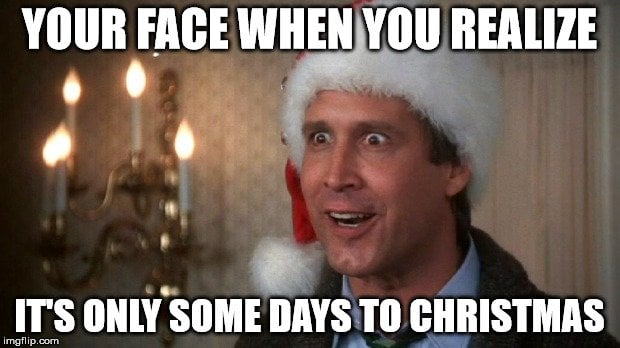 Clark Griswold Christmas is Coming Meme
