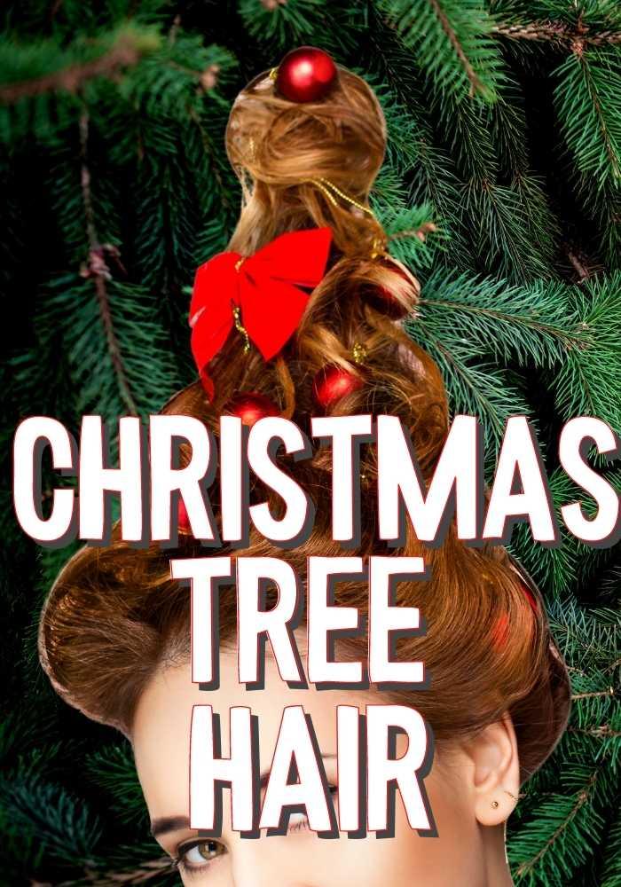 Christmas Tree Hair Photos