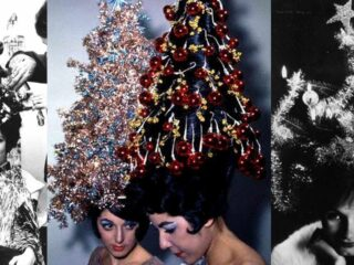 christmas tree hair trend