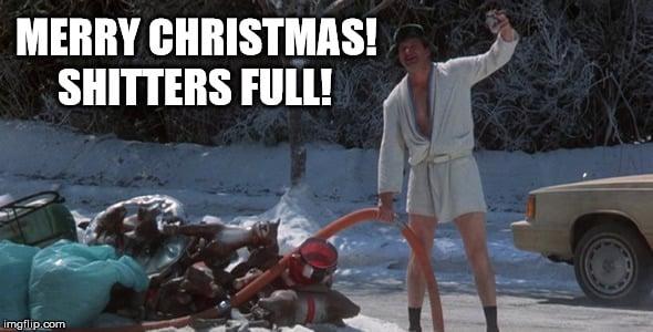 Merry Christmas Meme Cousin Eddie Shitters Full
