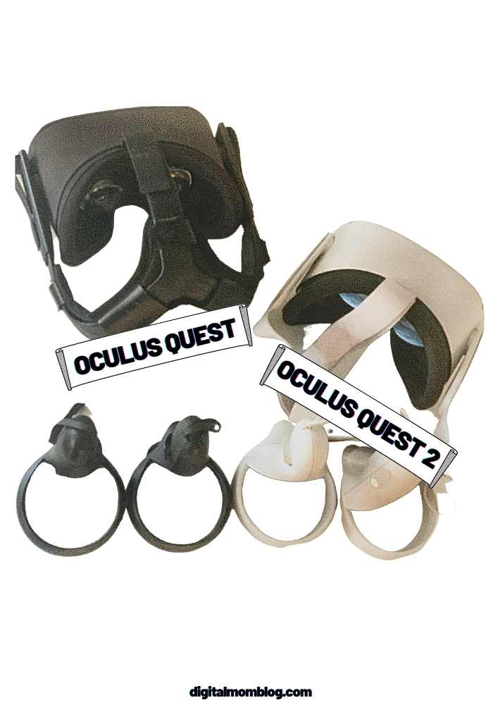 Oculus Quest Virtual Reality Gaming Headset vs Quest 2