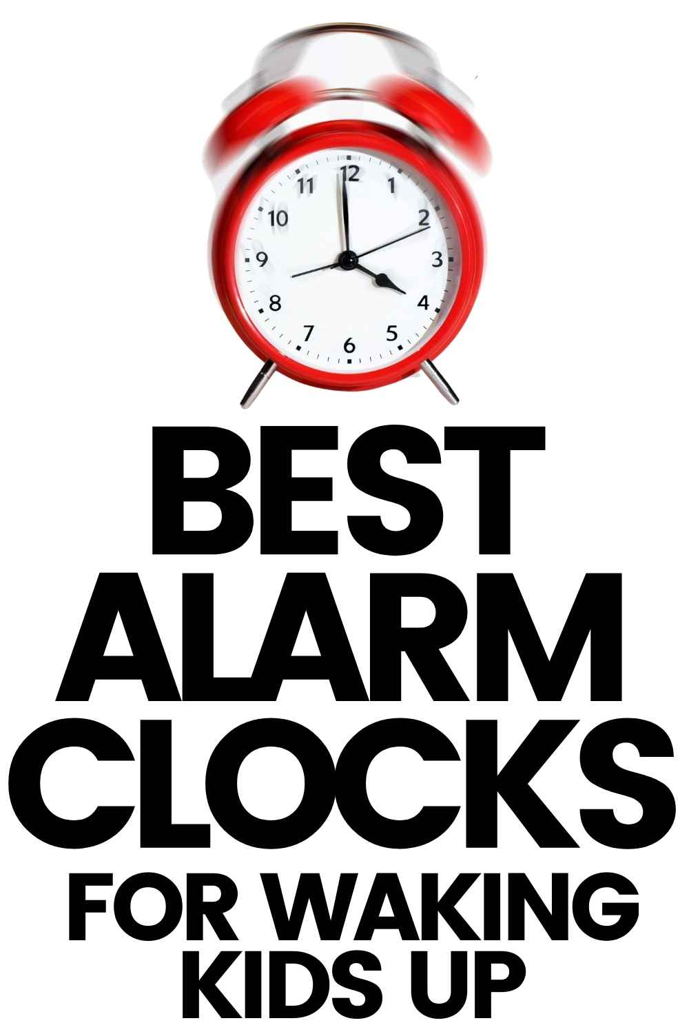 Best alarm clocks for waking kids up in the morning